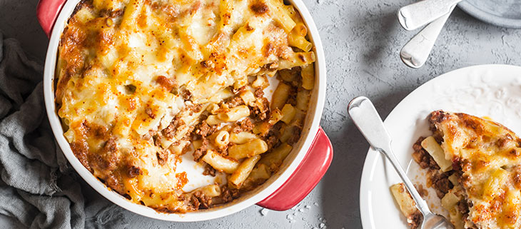 Cheesy-Mince-and-Pasta-Bake